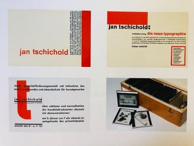 Jan Tschichold - Lot with 3 books - 1996/2007 - Catawiki