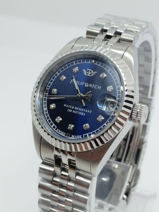 Philip Watch - Caribe Datejust - Natural diamonds  - R8253597537-83817 - Dames - 2011-heden