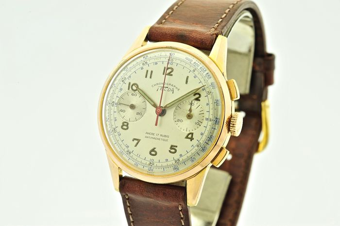 Telda - Chronographe Antimagnetic - Men - 1960-1969