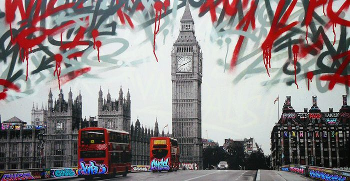 Ches - Vandalism in London