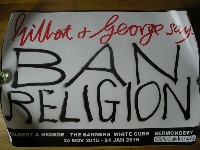 Gilbert and George - Ban Religion