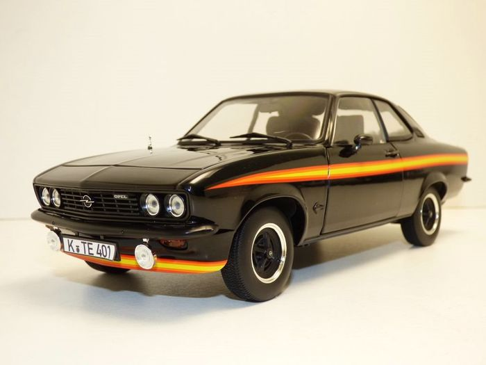 "Norev - 1:18 - Opel Manta A GT/E ""Black Magic"" 1975"