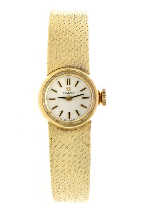 Omega - full gold 14 kt - Dames - 1960-1969