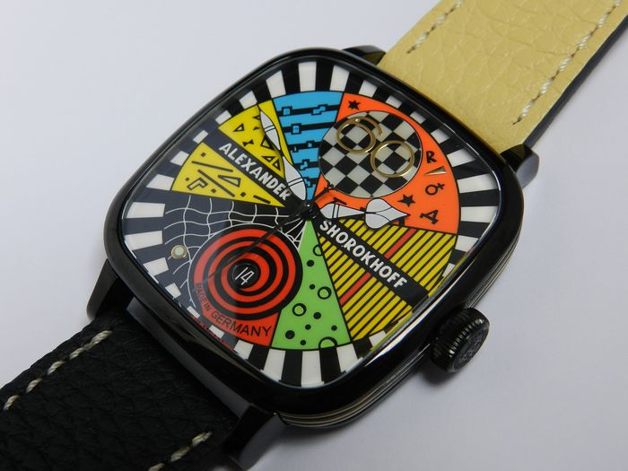 Alexander Shorokhoff - Kandy avantgarde numbered limited edition to only 100pcs - AS.KD-AVG02 - Unisex - 2019