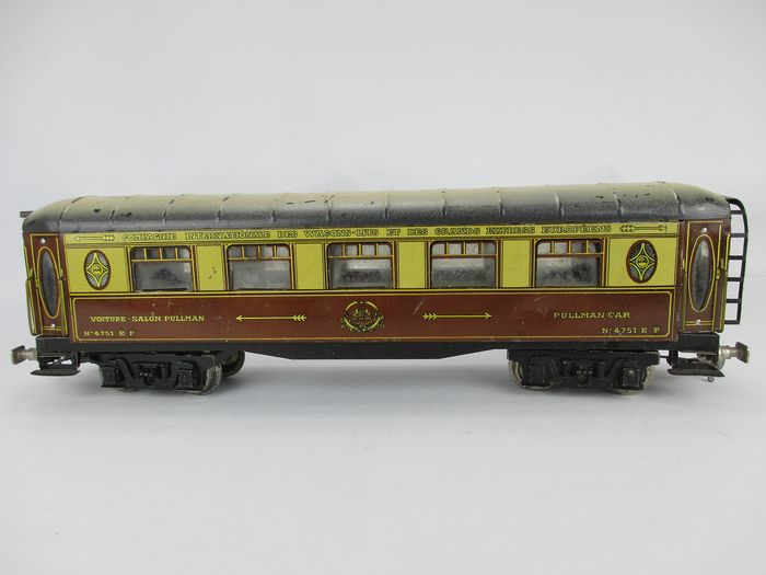 "Jouet de Paris 0 - Passenger carriage - Part of the ""Flèche d'Or"" from the 1930s - CIWL"