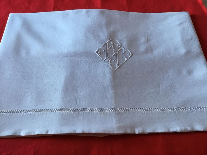 FRENCH VICTORIAN BED LINEN - Cotton - Early 20th century