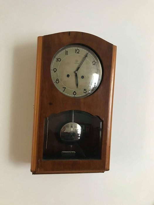 Junghans - Grandfather clock - Wood