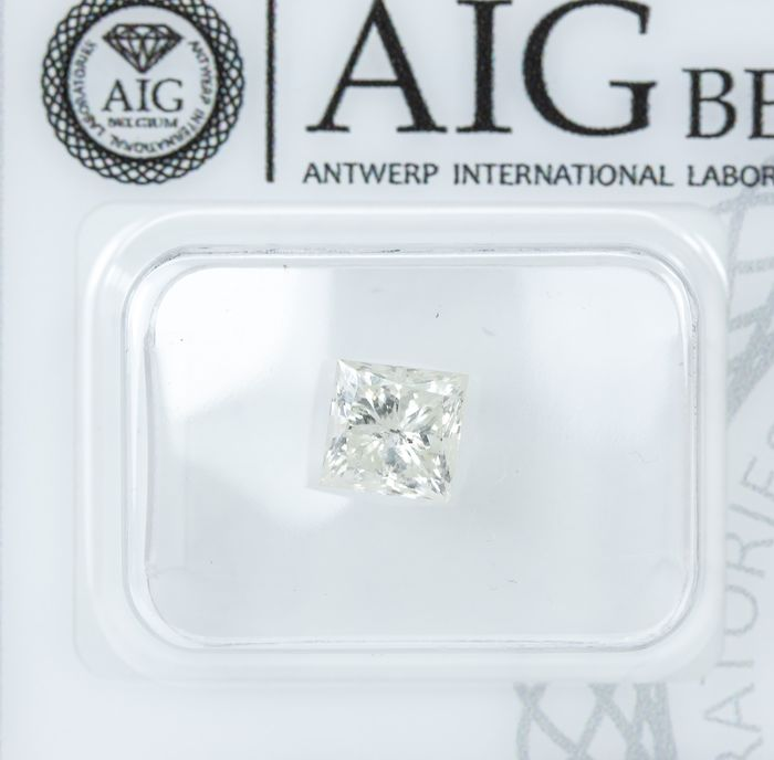 Diamant - 1.03 ct - Natural White - M color - I2  *NO RESERVE*