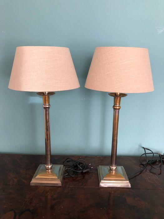 Table lamp - Brass