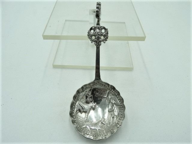 Room spoon - .833 silver - Netherlands - Late 19th century