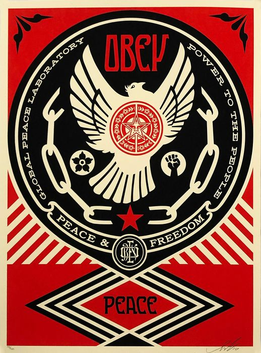 Shepard Fairey (OBEY) - 'Obey: Peace & Freedom'