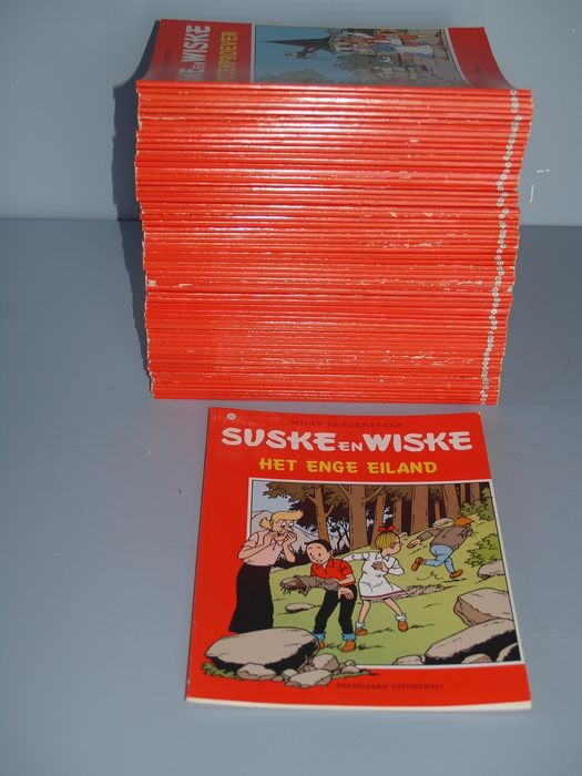 Suske en Wiske - Diverse titels - Softcover - First edition - (1990/1999)