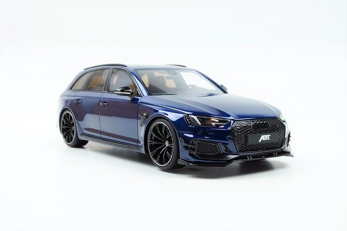 GT Spirit Asia - 1:18 - Audi ABT RS4 Avant 2018 Blue 1:18 - Limited edition  1 of 400