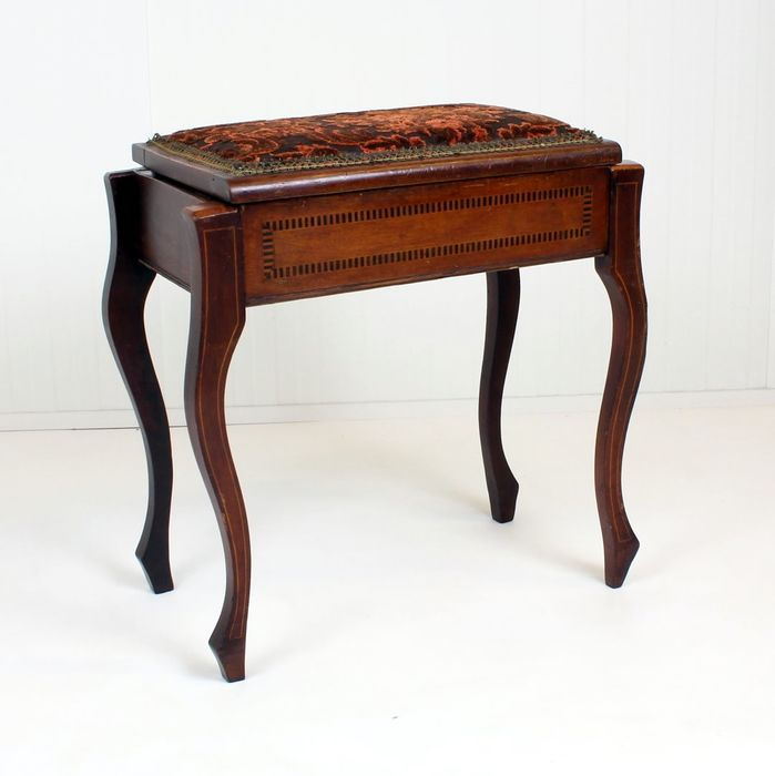 Sewing table - Queen Anne Style