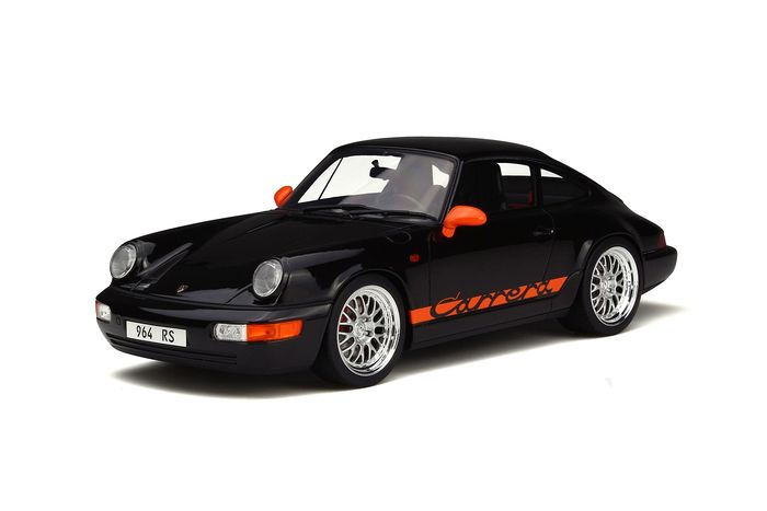 GT Spirit - 1:18 -  Porsche 911 (964) Carrera RS 1992 Black