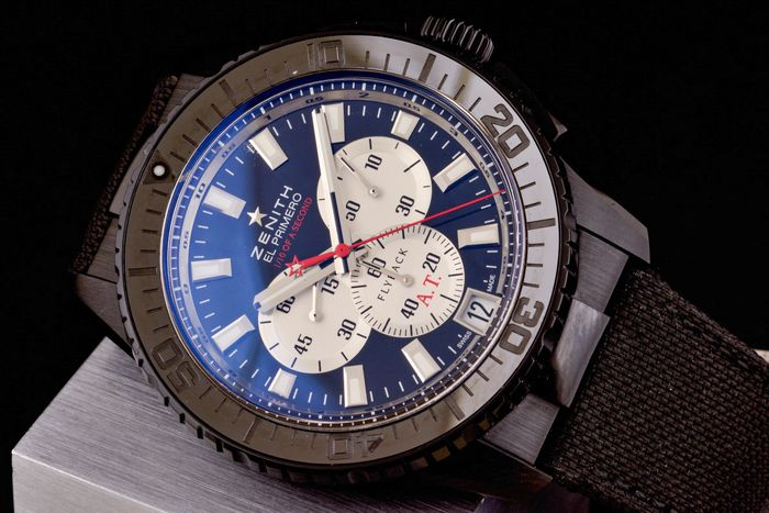 Zenith - El Primero Flyback 1/10 Chronograph Striking Tenth Black Alchron Limited Edition - 24.2061.4057 - Herren - 2000-2010