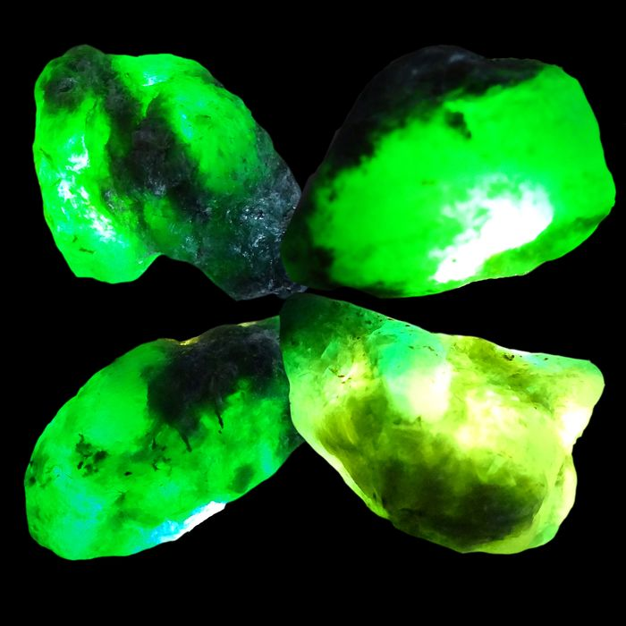 Colombian Green Emeralds (variety of beryl) Precious Stones in Brute - 29 g - (4)