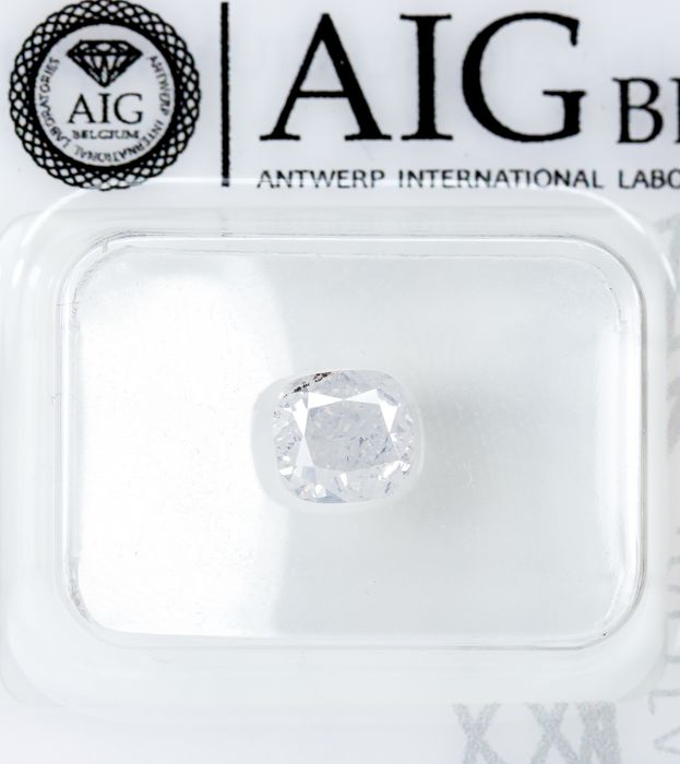 Diamond - 1.00 ct - Natural White - E color - SI2  *NO RESERVE*