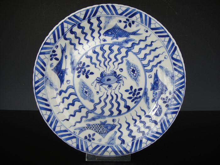 Plate - Porcelain - China - 19th century