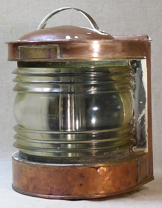 Ship's lamp - Copper - mid 20th century