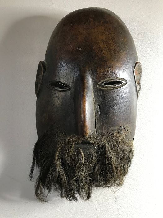 Mask (1) - Wood - Man - Nepal - mid 20th century