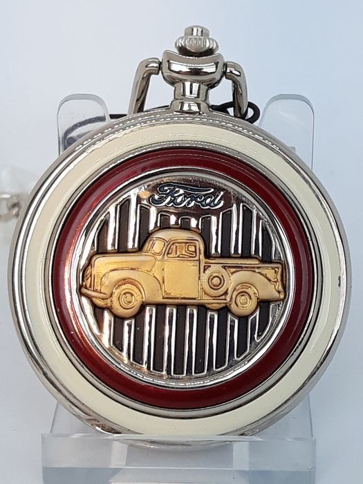 Ford Truck - reloj de bolsillo - Franklin Mint - 1990-1980