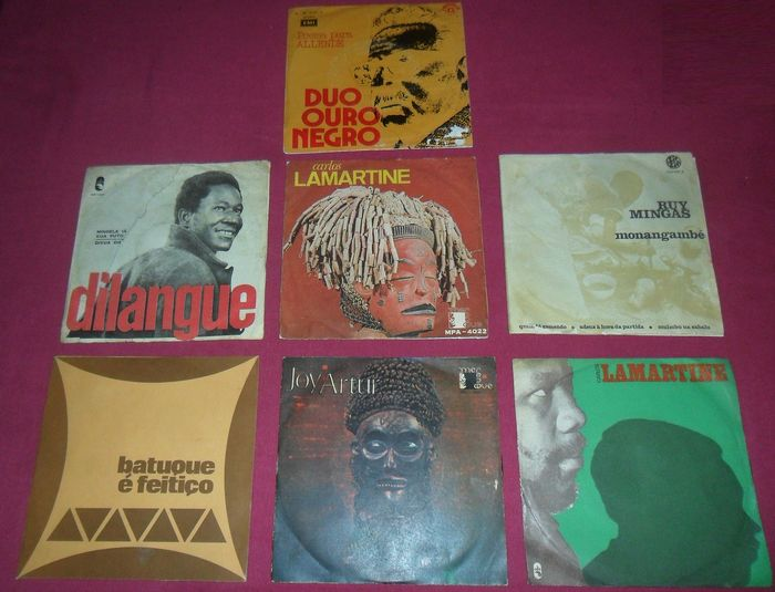 Deep Soul Guitar Afro Folk Angola 1970S Carlos Lamartine Joy Artur - Multiple artists - Multiple titles - 45 rpm Single - 1975/1974