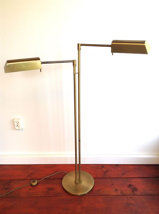 Classic Double Notary Floor lamp - Copper