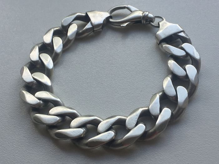 925 super massive - silver bracelet - made for real men