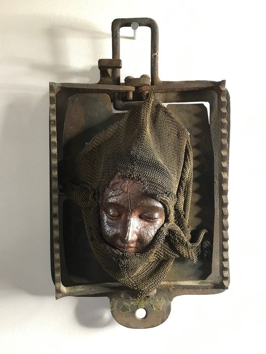 """Anonymous - Sculpture, """"Trapped"""""""