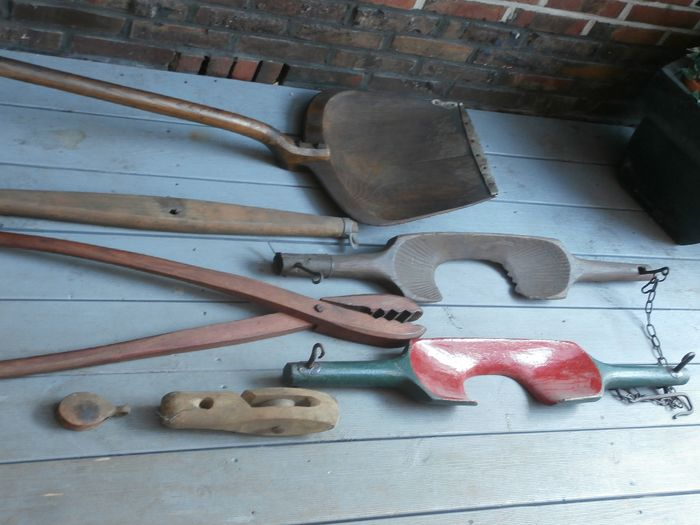 Agricultural Tools - Steel, Wood