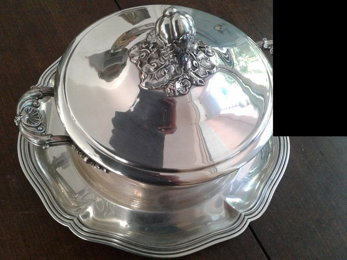 France (1) - Louis XV - Silver plated