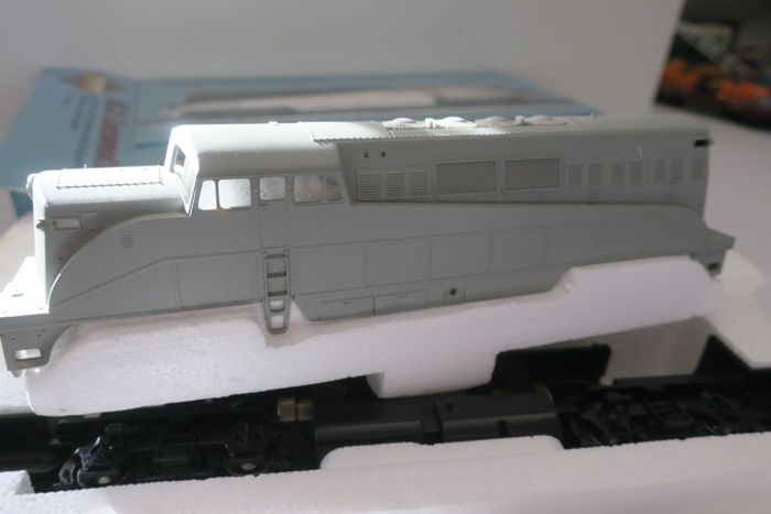 Brawa H0 -  30200 - Diesel locomotive - BL 2 - Undecorated