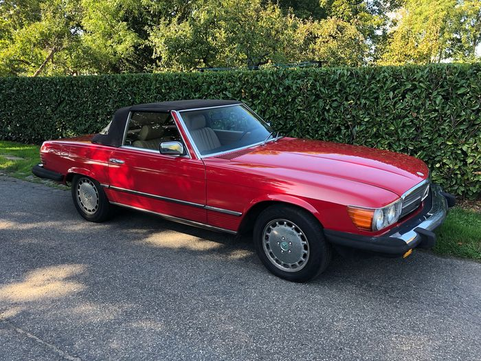 Mercedes-Benz - 380 SL (R107) - 1984