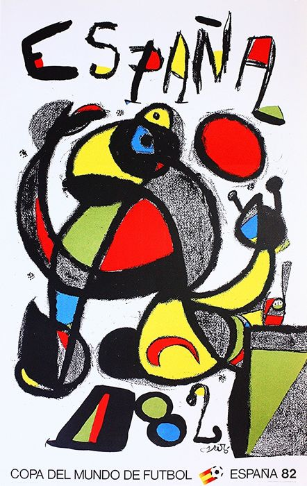 Joan Miró - FIFA World Cup - 1982
