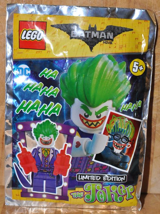 LEGO - limited edition - Character: the joker DC - Denmark