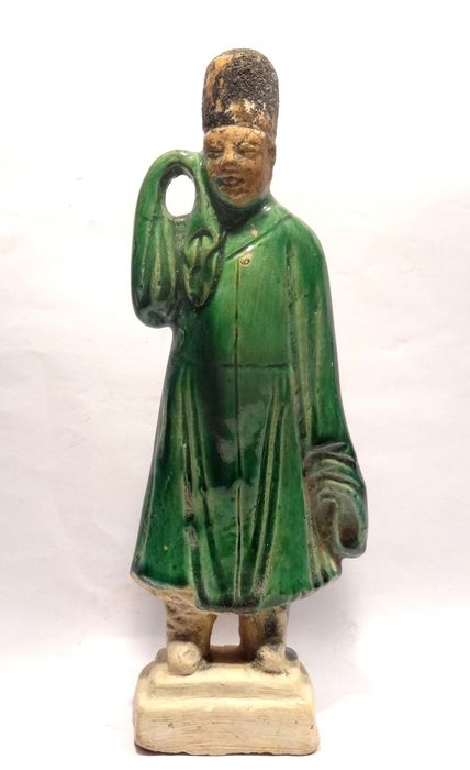 Statue - Terracotta - China - Ming Dynasty (1368-1644)