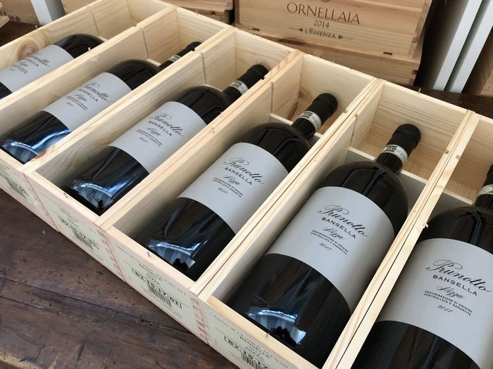 "2017 Antinori Prunotto Barbera Nizza ""Bansella"" - Piëmont - 6 Magnums (1.5L)"