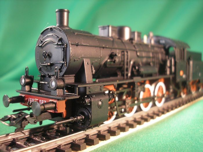 Märklin H0 - 37557 - Steam locomotive with tender - Series 460 - FS