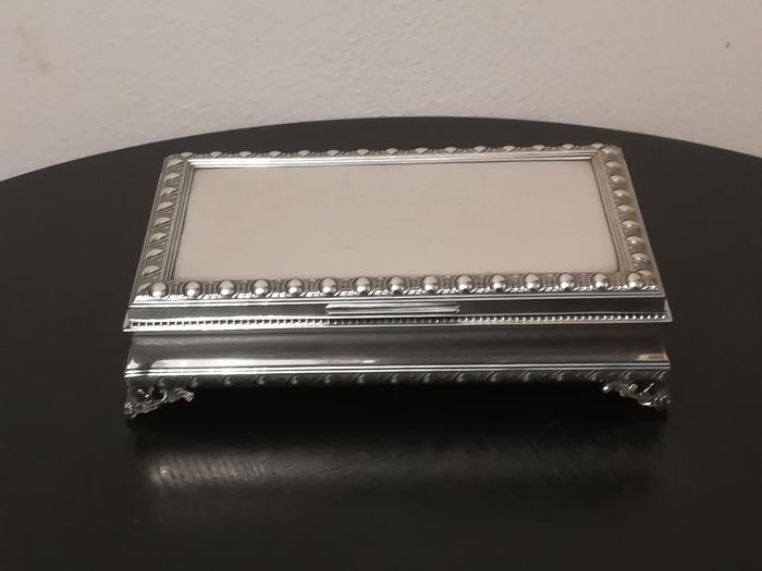 Jewellery box, Jewelry box (1) - .800 silver - Unknown - mid 20th century