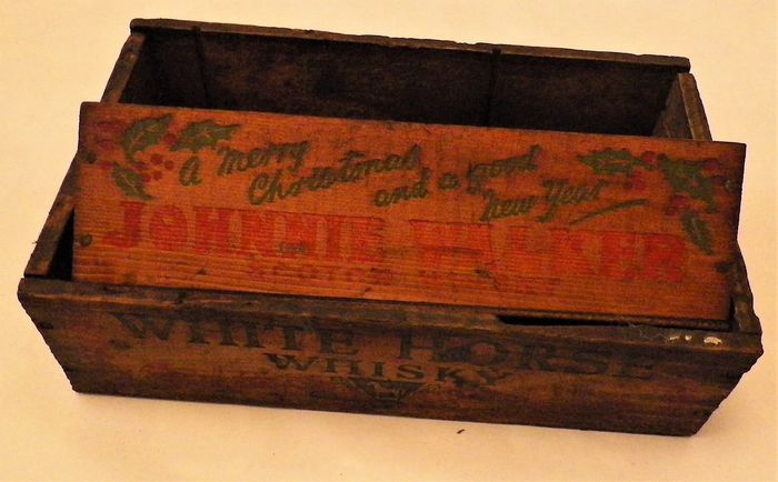 Vintage Scotch  Whisky Boxes (2) - Wood