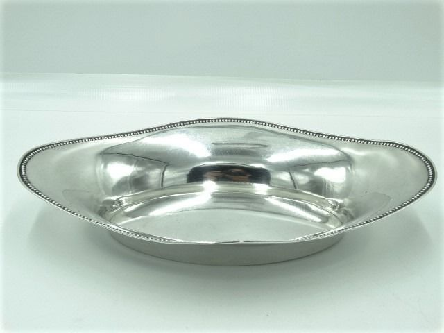 Bread bowl - .800 silver - Germany - Early 20th century