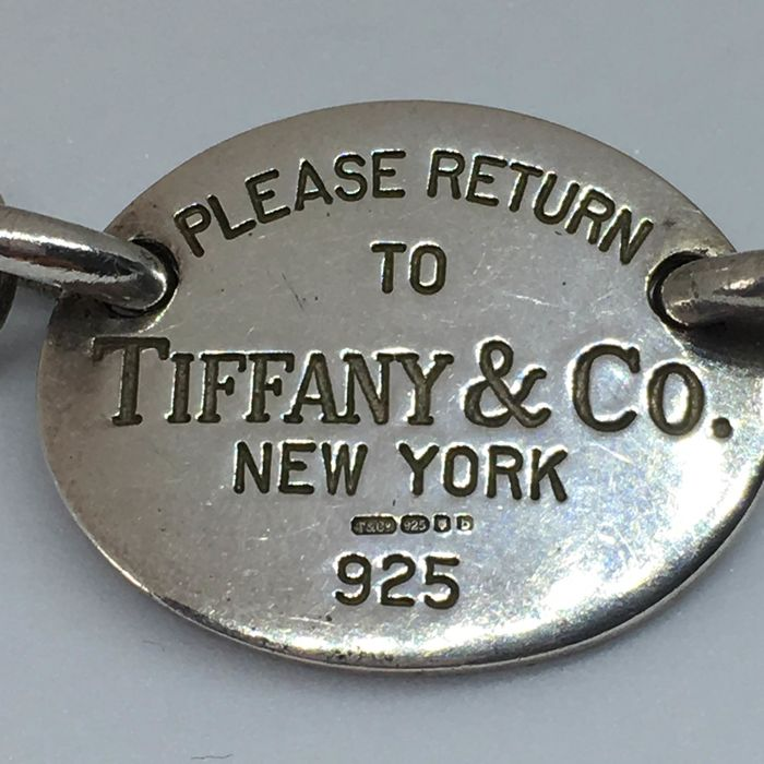 Tiffany - 925 Silver - Necklace