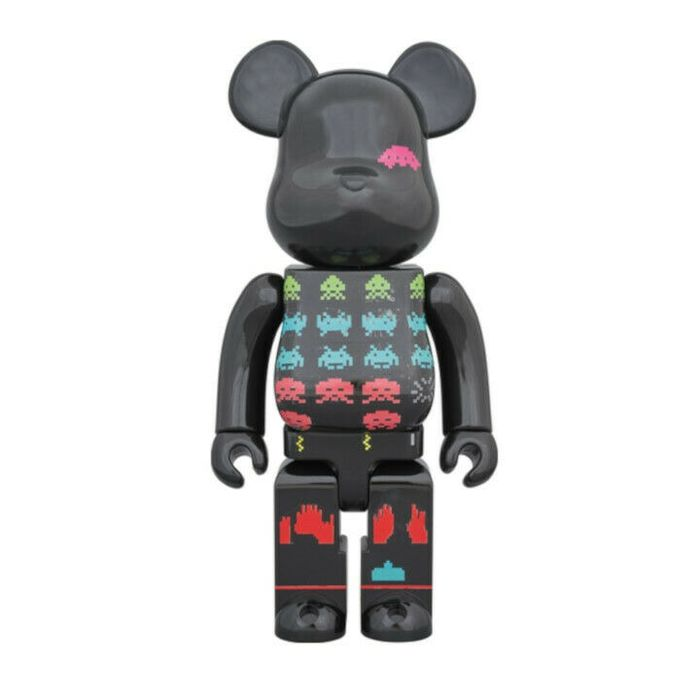 Be@rbrick Space Invaders - Medicom 400% Articulated Figures