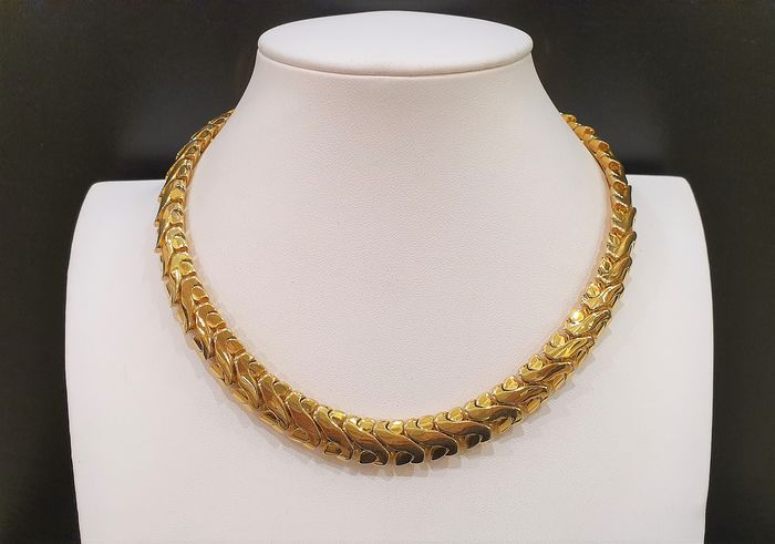 NAPIER 22kt gold plated metal - Necklace