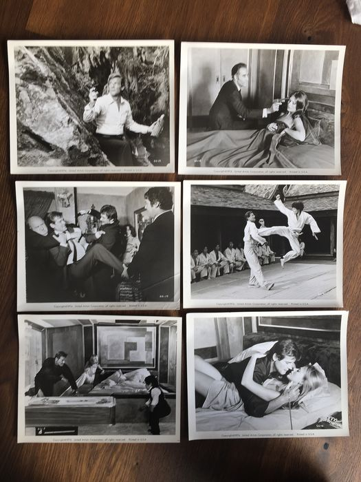 James Bond 007 - Roger Moore - The Man with the Golden Gun (1974) - Deluxe Press Set of 18 photographs
