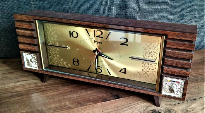 Relog music box alarm clock - other - mid 20th century