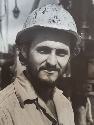 Alberto Korda (1929-2001)  - Construction Worker Serie Revolution Faces