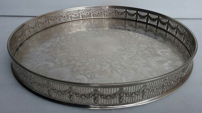 E.H.P - Tray - Silver plated