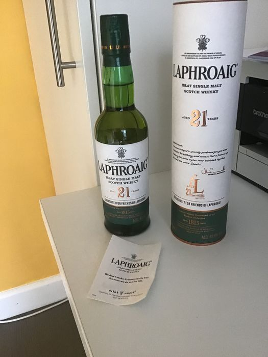 Laphroaig 21 years old - 35cl